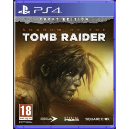 Coperta SHADOW OF THE TOMB RAIDER CROFT EDITION - PS4