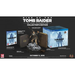 Coperta RISE OF THE TOMB RAIDER 20 YEAR CELEBRATION COLLECTORS EDITION - PS4