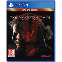 Coperta METAL GEAR SOLID 5 THE PHANTOM PAIN D1 EDITION - PS4