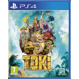 Coperta TOKI - PS4
