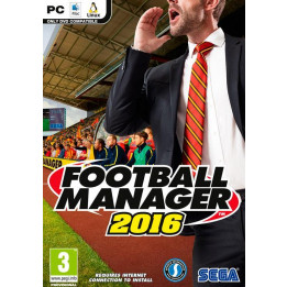 Coperta FOOTBALL MANAGER 2016 LIMITED EDITION - PC