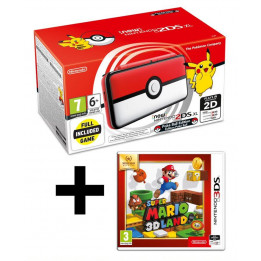 Coperta NINTENDO NEW 2DS XL CONSOLE POKEBALL EDITION + MARIO 3D LAND - GDG