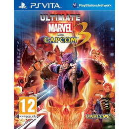 Coperta ULTIMATE MARVEL VS CAPCOM 3 - PSV