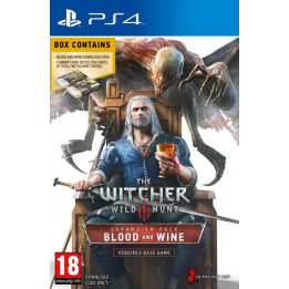 Coperta THE WITCHER 3 WILD HUNT BLOOD & WINE (EXPANSION PACK) - PS4