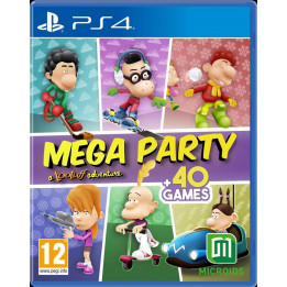 Coperta TITEUF MEGA PARTY - PS4
