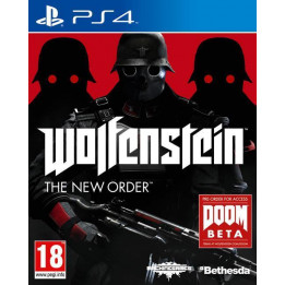 Coperta WOLFENSTEIN THE NEW ORDER - PS4