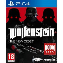 Coperta WOLFENSTEIN THE NEW ORDER - PS4