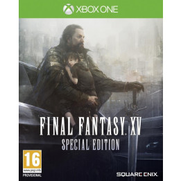 Coperta FINAL FANTASY XV STEELBOOK EDITION - XBOX ONE