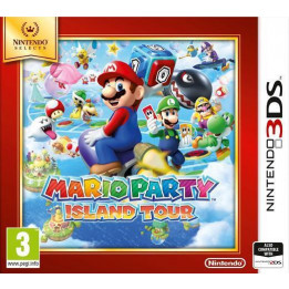 Coperta MARIO PARTY ISLAND TOUR SELECTS - 3DS