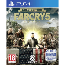Coperta FAR CRY 5 GOLD EDITION - PS4
