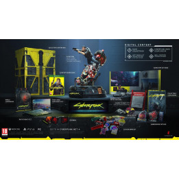 Coperta CYBERPUNK 2077 COLLECTORS EDITION - XBOX ONE