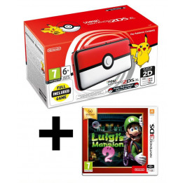 Coperta NINTENDO NEW 2DS XL CONSOLE POKEBALL EDITION + LUIGIS MANSION 2 - GDG