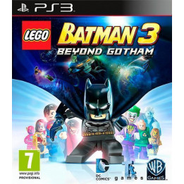 Coperta LEGO BATMAN 3 BEYOND GOTHAM ESSENTIALS - PS3