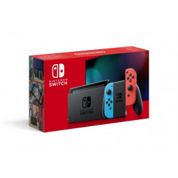 Coperta NINTENDO SWITCH CONSOLE (WITH NEON RED & NEON BLUE JOY-CONS) HAD - GDG