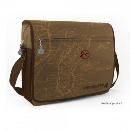 Coperta UNCHARTED 4 A THIEFS END MAP MESSENGER BAG