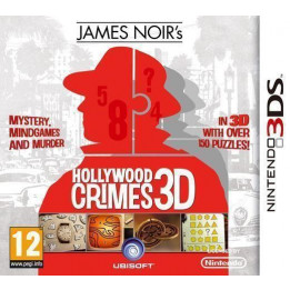 Coperta JAMES NOIR HOLLYWOOD CRIMES - 3DS