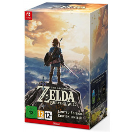 Coperta THE LEGEND OF ZELDA BREATH OF THE WILD LIMITED EDITION - SW