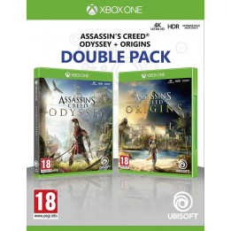 Coperta COMPILATION ASSASSINS CREED ODYSSEY & ASSASSINS CREED ORIGINS - XBOX ONE