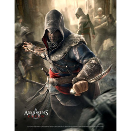 ASSASSINS CREED FIGHT YOUR WAY WALLSCROLL
