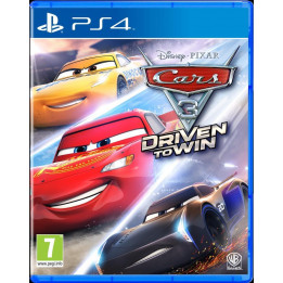 Coperta CARS 3 DRIVEN TO WIN - PS4