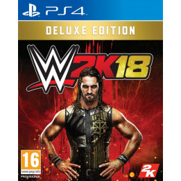 Coperta WWE 2K18 DELUXE EDITION - PS4