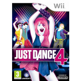 Coperta JUST DANCE 4 - WII