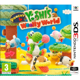 Coperta POOCHY & YOSHIS WOOLLY WORLD - 3DS