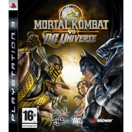 Coperta MORTAL KOMBAT VS DC UNIVERSE - PS3