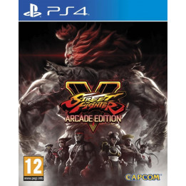 Coperta STREET FIGHTER 5 ARCADE EDITION - PS4
