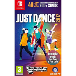 Coperta JUST DANCE 2017 - SW