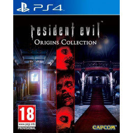 Coperta RESIDENT EVIL ORIGINS COLLECTION - PS4