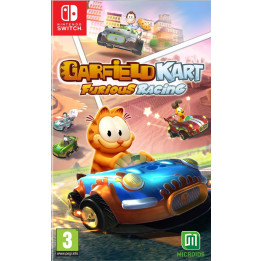 Coperta GARFIELD KART FURIOUS RACING - SW