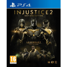 Coperta INJUSTICE 2 LEGENDARY STEELBOOK EDITION - PS4