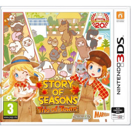 Coperta STORY OF SEASONS TRIO OF TOWNS - 3DS