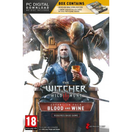 Coperta THE WITCHER 3 WILD HUNT BLOOD & WINE (EXPANSION PACK) - PC