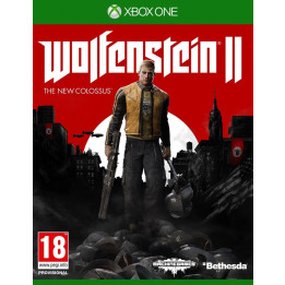 Coperta WOLFENSTEIN 2 THE NEW COLOSSUS - XBOX ONE
