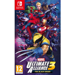 Coperta MARVEL ULTIMATE ALLIANCE 3 THE BLACK ORDER - SW
