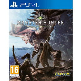 Coperta MONSTER HUNTER WORLD - PS4