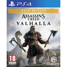 Coperta ASSASSINS CREED VALHALLA GOLD EDITION - PS4
