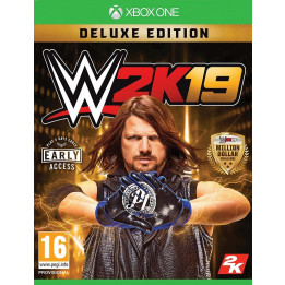 Coperta WWE 2K19 DELUXE EDITION - XBOX ONE