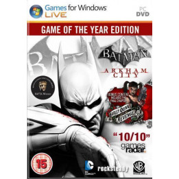 Coperta BATMAN ARKHAM CITY GOTY - PC