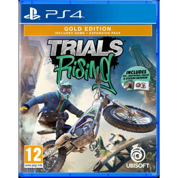 Coperta TRIALS RISING GOLD EDITION - PS4