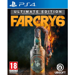 Coperta FAR CRY 6 ULTIMATE EDITION - PS4