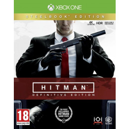 Coperta HITMAN DEFINITIVE STEELBOOK EDITION - XBOX ONE
