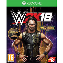 Coperta WWE 2K18 WRESTLEMANIA EDITION - XBOX ONE