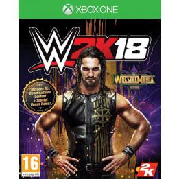 Coperta WWE 2K18 WRESTLEMANIA EDITION - XBOX ONE
