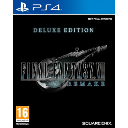 Coperta FINAL FANTASY VII HD REMAKE DELUXE EDITION - PS4
