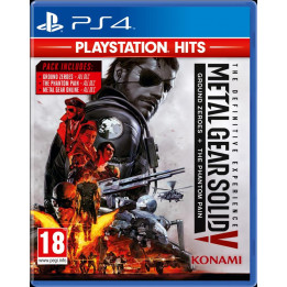 Coperta METAL GEAR SOLID 5 THE PHANTOM PAIN PLAYSTATION HITS - PS4