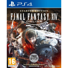 Coperta FINAL FANTASY XIV ONLINE STARTER EDITION - PS4