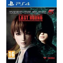 Coperta DEAD OR ALIVE 5 - LAST ROUND - PS4